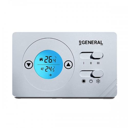 Θερμοστάτης χώρου GENERAL LIFE FC-220